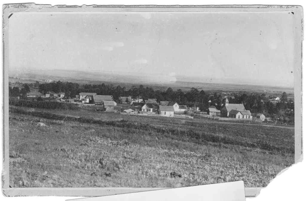Old Photo of Main Street Rye